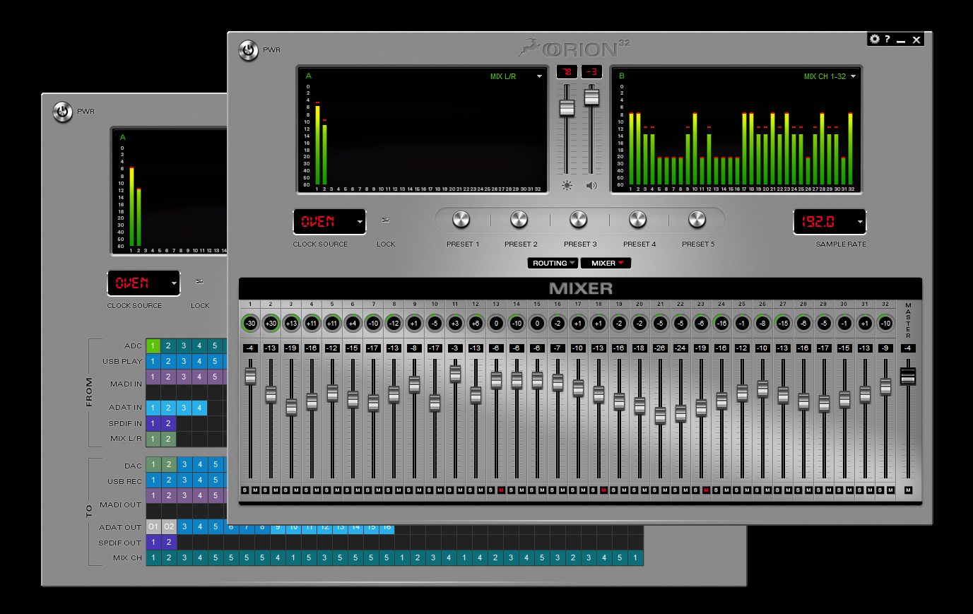 antelope software control panel