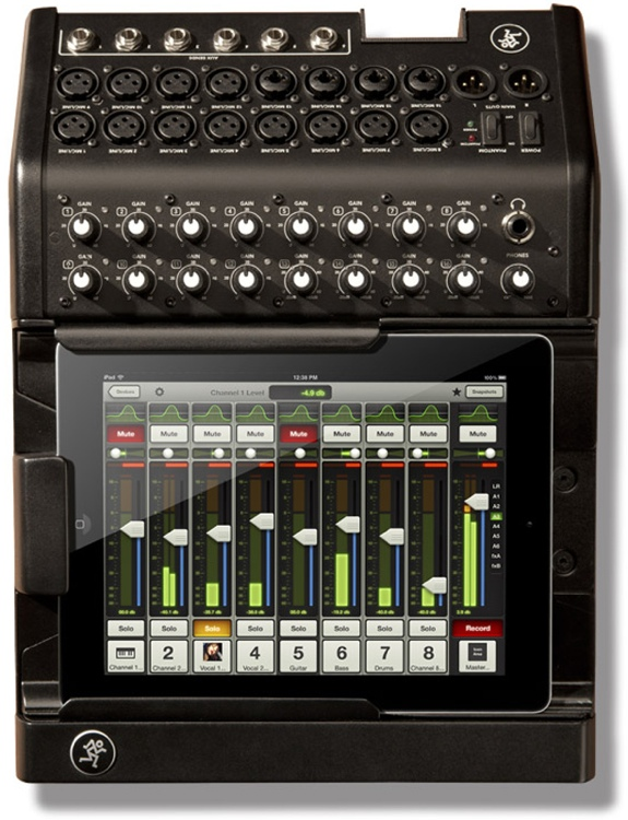 mackie my fader app available for dl1608 and dl806 digital mixers sweetwater. Black Bedroom Furniture Sets. Home Design Ideas