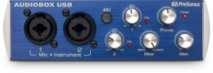 PreSonus AudioBox USB interface