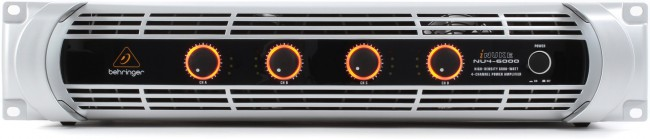 The Behringer iNuke NU4-6000 can deliver 3000W x2 in bridged mode