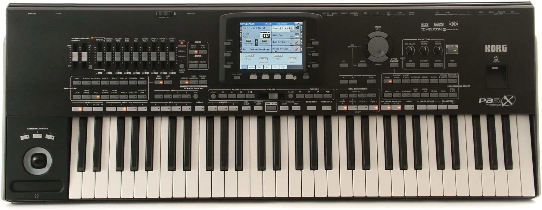 Keyboard workstation buying guide sweetwater for Yamaha professional keyboard price