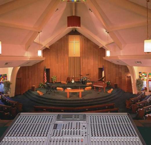 Mixer in church