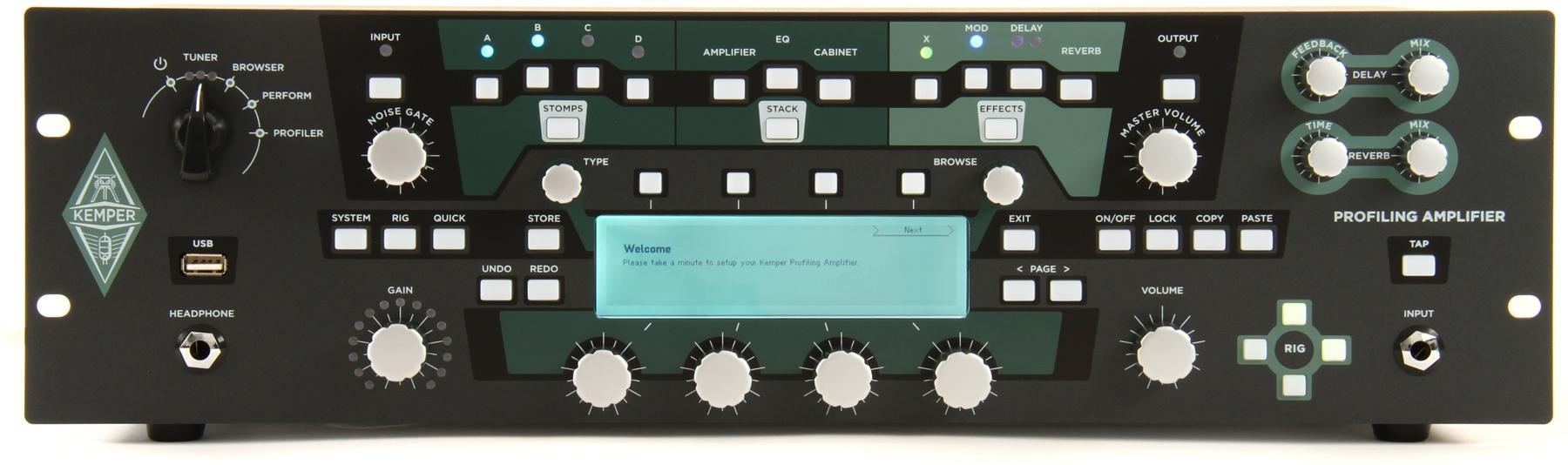 Kemper Releases Firmware V2 0 For Profiling Amp