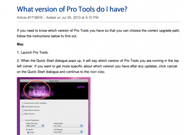 What Version of Pro Tools Do I Have? | Sweetwater