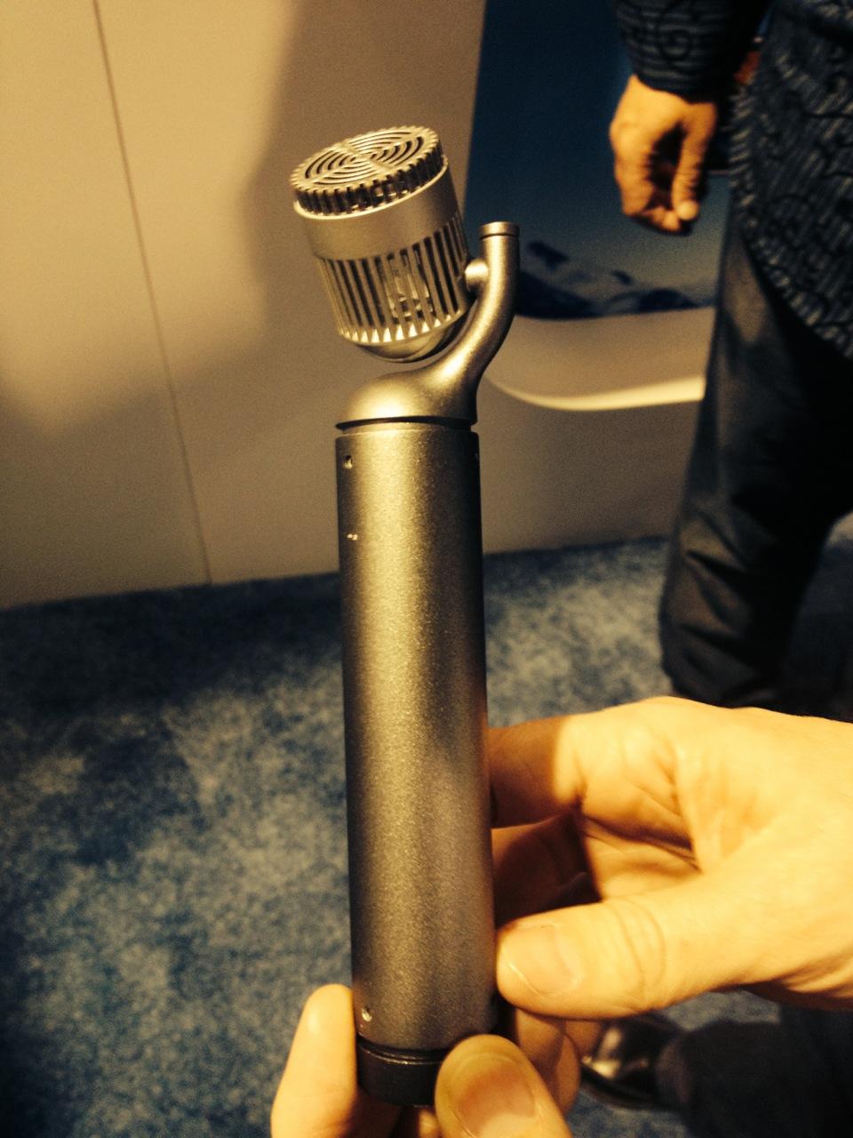 Blue Hampton microphone