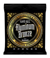 Ernie Ball Aluminum Bronze Acoustic Strings