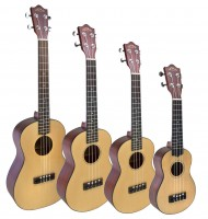 Lanikai Legacy Collection Ukuleles