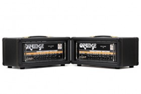 Orange Dual Dark Tube Amplifiers