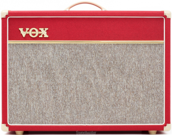 amp of the day vox ac15 custom tube combo limited edition red. Black Bedroom Furniture Sets. Home Design Ideas