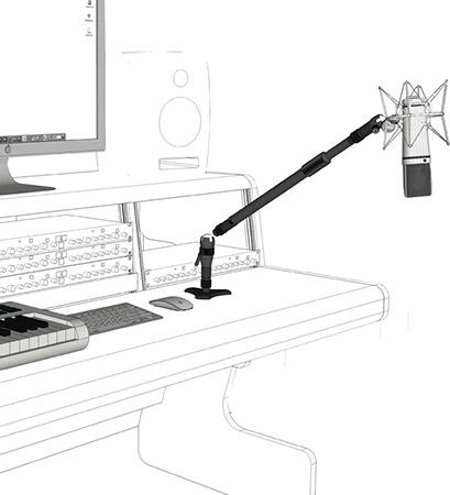 Triad-Orbit Installation Boom System Mic Stand Package