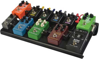 The On Stage Stands GPB3000 Pedalboard With Bag Is Perfect Solution For Guitar Players Go You Can Place Up To 10 Pedal 187 X 9