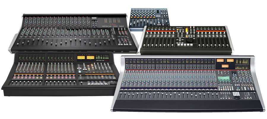 Solid State Logic Console Buying Guide Sweetwater