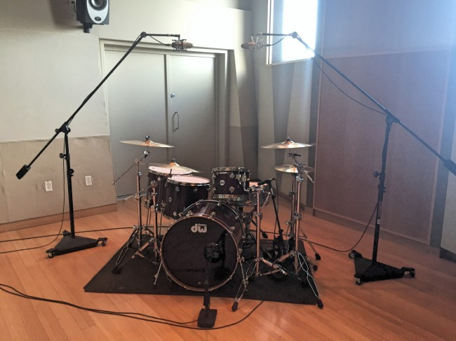 Best Room To Record Drums