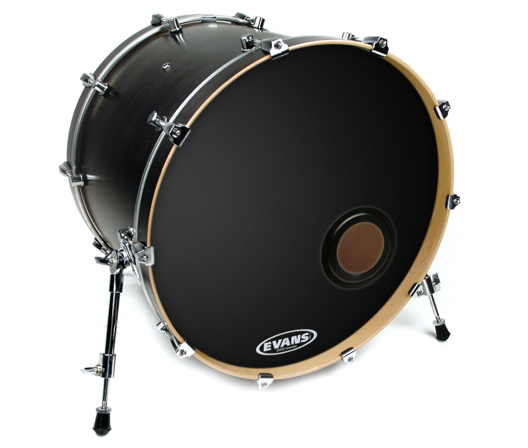 do i need a hole in my kick drum head for the mic sweetwater. Black Bedroom Furniture Sets. Home Design Ideas