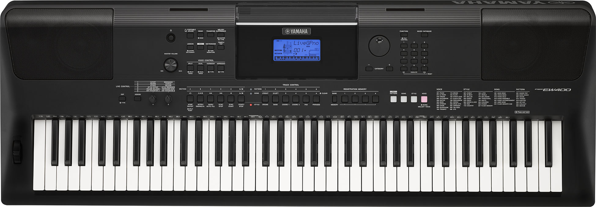 musikmesse 2016 yamaha psr ew400 sweetwater. Black Bedroom Furniture Sets. Home Design Ideas