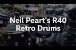 Neil Peart's R40 Retro Drums at Sweetwater GearFest 2016