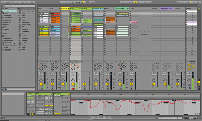 ableton releases live 9 7 with new features for live 9 and push rh sweetwater com ableton live lite manuel ableton live 9 lite manual pdf