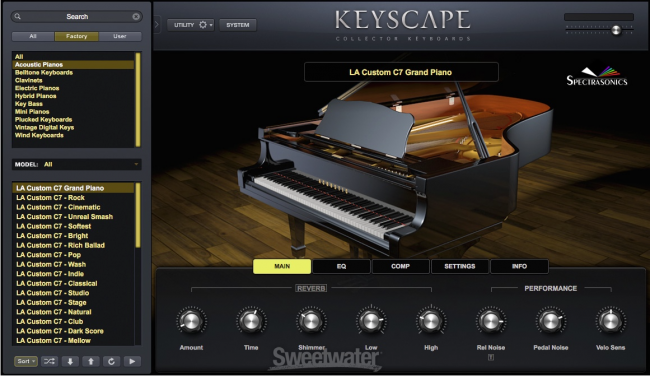 Spectrasonics Updates Keyscape and Omnisphere | Sweetwater