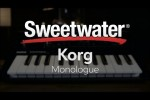 Korg Announces Monologue + Monologue Review!