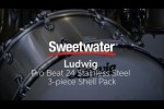 Ludwig Pro Beat 24 Stainless Steel 3-piece Shell Pack Review