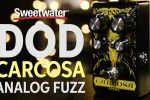 DOD Carcosa Analog Fuzz Pedal Review