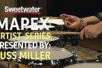 Mapex Black Panther Artist Series Snare Drums Demo
