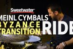 Meinl Cymbals Byzance Transition Ride Cymbal Demo