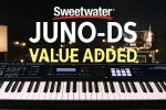 Sweetwater's JUNO-DS Value-added Thumb Drive Overview