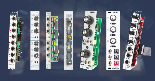 Multiple Dual Passive Signal Splitter Eurorack Modular Synthesizer