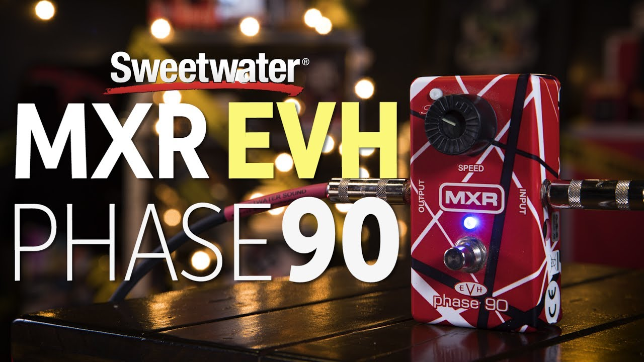 mxr evh phase 90 pedal review sweetwater. Black Bedroom Furniture Sets. Home Design Ideas