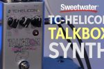 TC-Helicon Talkbox Synth Pedal Demo