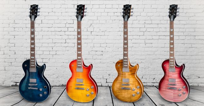 First Look at Gibson's 2018 Models  Here's What's New