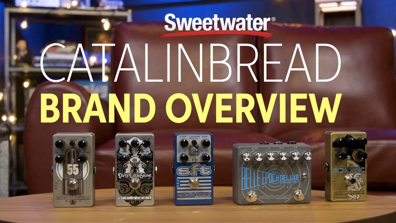 catalinbread guitar pedals brand overview sweetwater. Black Bedroom Furniture Sets. Home Design Ideas