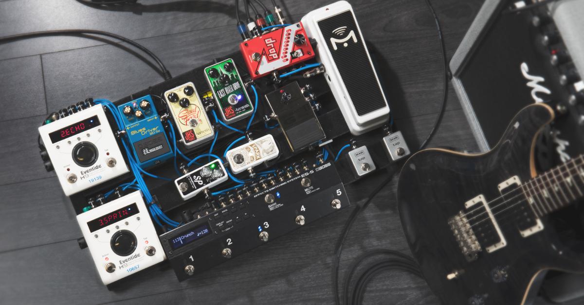 Guitar Wiring Pedal Board : cable management for pedalboards sweetwater ~ Vivirlamusica.com Haus und Dekorationen