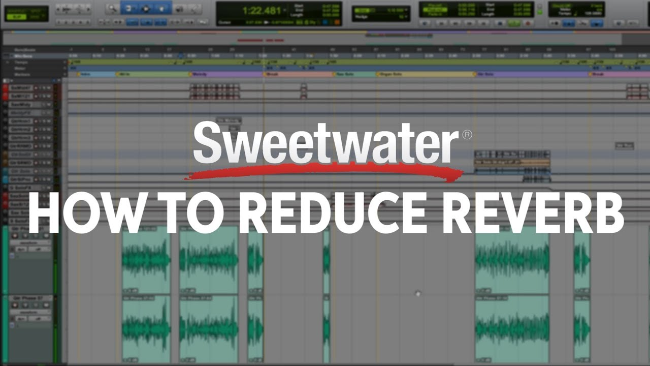 How To Reduce Reverb in Post Production | Sweetwater