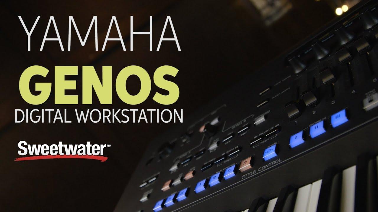 yamaha genos digital workstation demo sweetwater. Black Bedroom Furniture Sets. Home Design Ideas