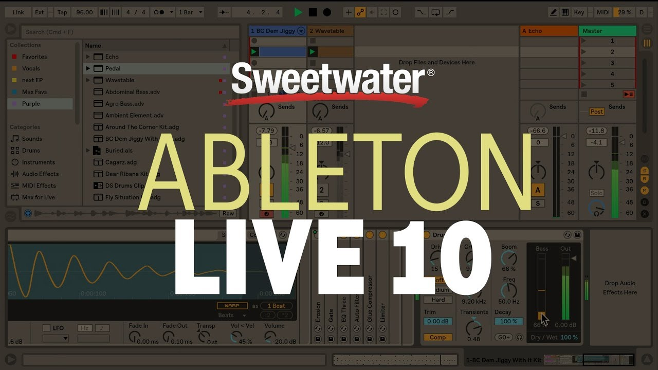 Ableton Live 10 - New Features Overview by Sweetwater