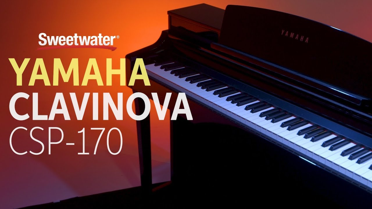 yamaha clavinova csp 170 digital piano review sweetwater. Black Bedroom Furniture Sets. Home Design Ideas