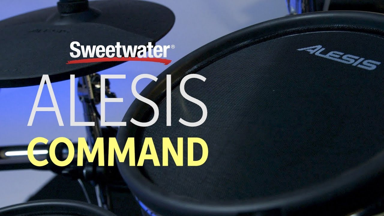 Alesis Command Mesh Electronic Drum Set Review | Sweetwater