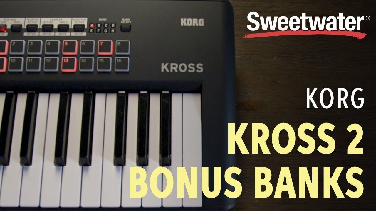Korg Kross 2 Bonus SD Card Demo   Sweetwater