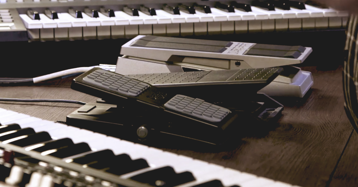 Quick Lok VP-2622 Volume Pedal for Keyboard//Guitar