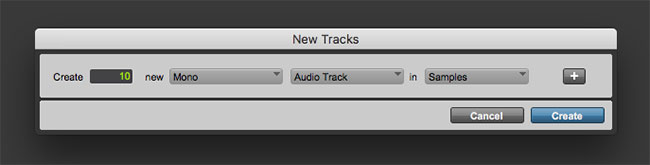 How to Create a Tracking Template in Pro Tools   Sweetwater
