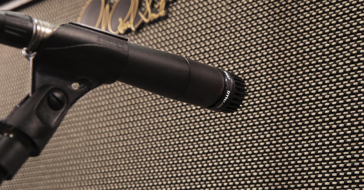 Shure SM 57 - GTR Amp micking