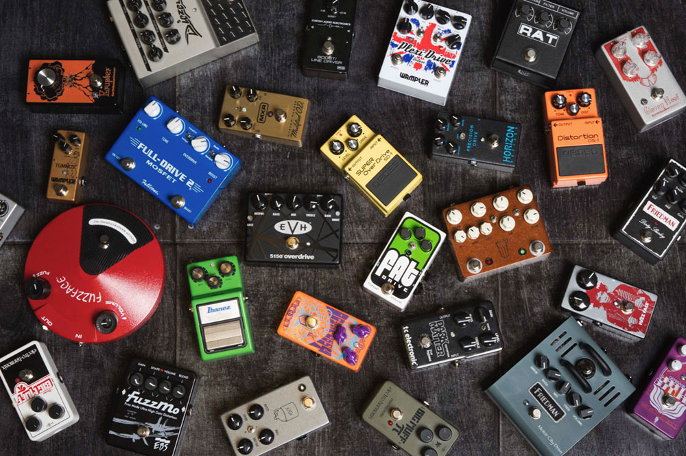 boost overdrive distortion fuzz pedals what 39 s the difference sweetwater. Black Bedroom Furniture Sets. Home Design Ideas