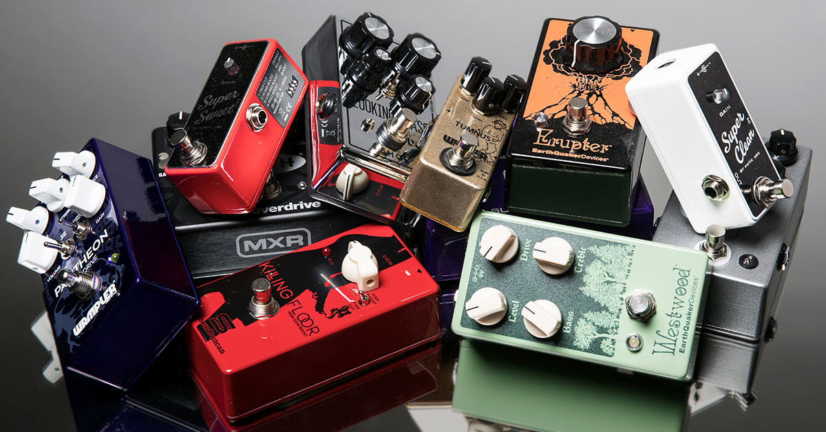 5 Tips for Stacking Distortion Pedals | Sweetwater