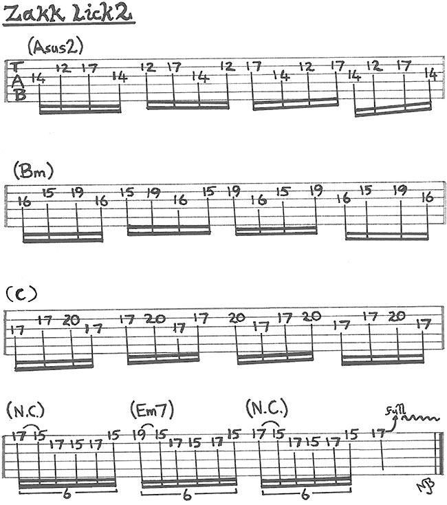 How to Play Five FEROCIOUS Zakk Wylde Guitar Licks   Guitar Lesson