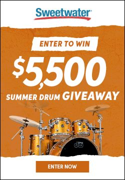 Enter to Win the $5,500 Summer Drum Giveaway