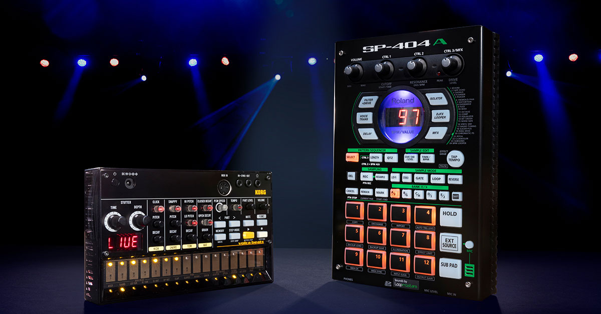 Drum Machine vs  Sampler: What's the Difference? | Sweetwater