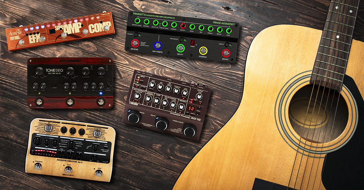 Best Guitar Pedals For Acoustic : best multi effects pedals for acoustic guitar sweetwater ~ Vivirlamusica.com Haus und Dekorationen