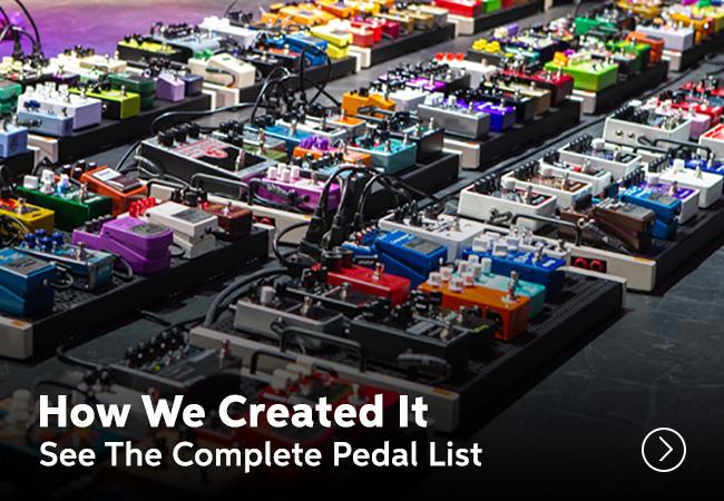 World's Largest Guitar Effect Pedalboard – A GUINNESS WORLD